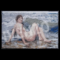 Mosaïque Bouguereau: La Vague