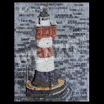 Mosaïque Phare Roter Sand